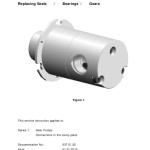 thumbnail of Service Instruction Series 1 Gear Pumps Connections in the cavity plate